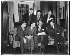 Striking Seamen Leaders to Meet Commerce Secretary: 1937