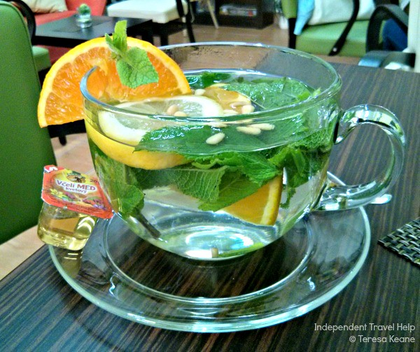 The best mint tea ever!