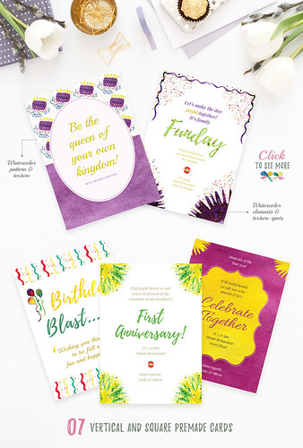 Presenting PURELY FUN 45+ Watercolor Pack