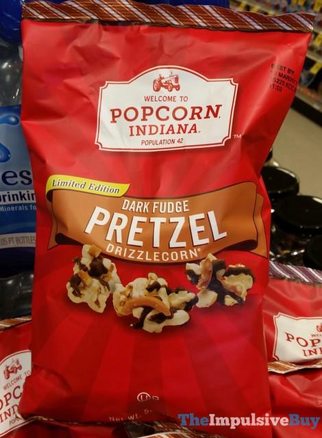 Popcorn Indiana Limited Edition Dark Fudge Pretzel Drizzlecorn