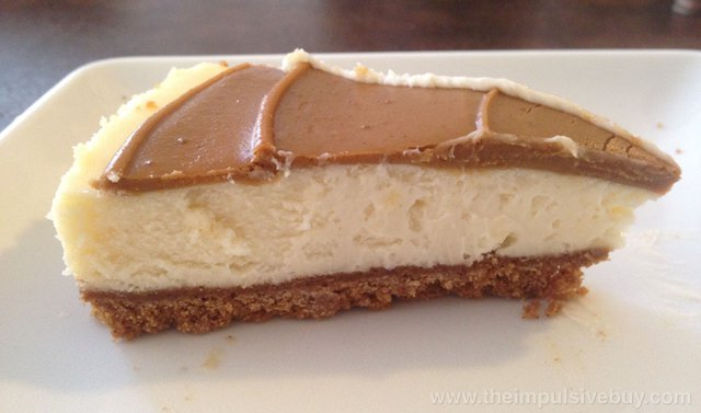 Trader Joe's Speculoos Cookie Butter Cheesecake 5