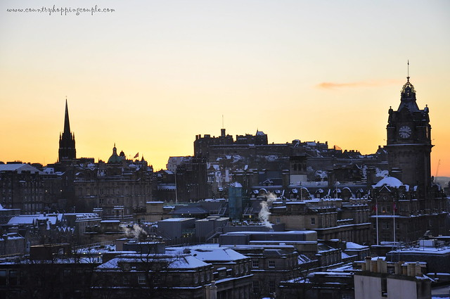 Edinburgh Old Town Snow