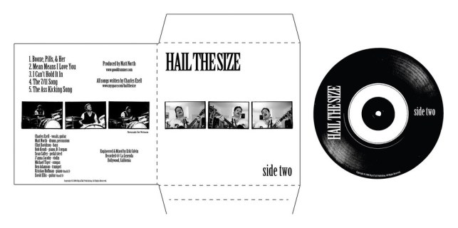 Hail The Size CD Cover