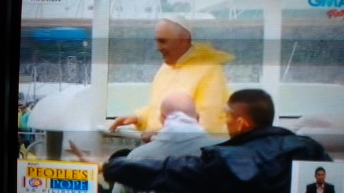 Pope Francis in the PH
