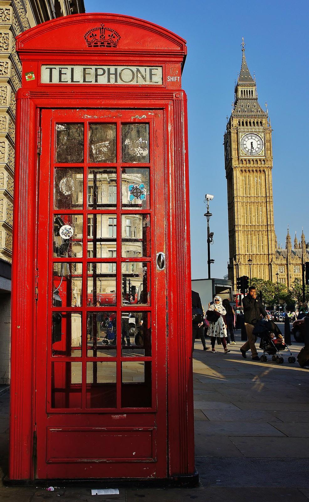 London Telephone Box-Booth