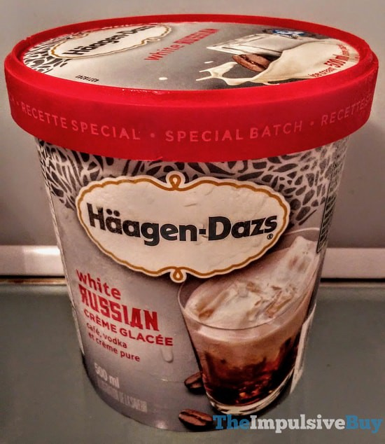 Ha?agen-Dazs Special Batch White Russian Ice Cream