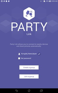 Party Link ของ ASUS