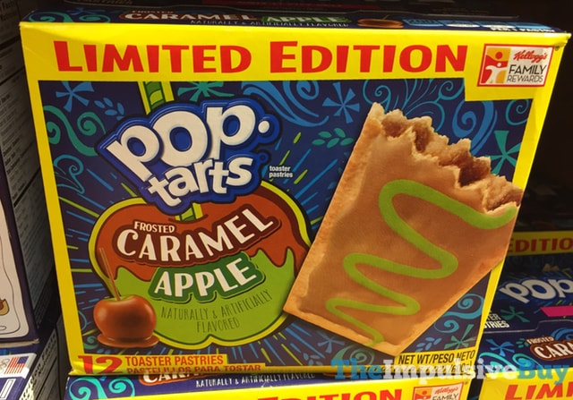 Limited Edition Frosted Caramel Apple Pop-Tarts