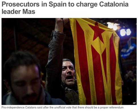 14k20 BBC Fiscalía contra Artur Mas