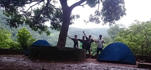 Camping at Malola Temple