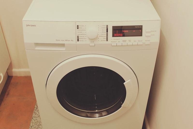 John Lewis washer/dryer