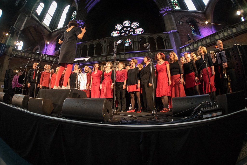 Jam Tarts Choir - Daylight Music 28th February 2015