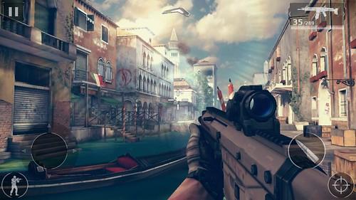 เกม Modern Combat 5: BlackOut บน Samsung Galaxy E5