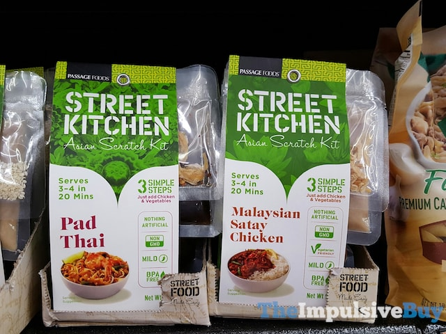 Passage Foods Street Kitchen Asian Scratch Kit (Pad Thai and Malaysian Satay Chicken)
