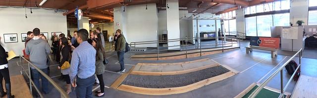 Tri-Met in Portland, disability testing center.
