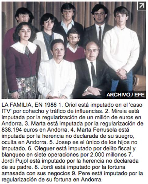 14l17 EPeriódico La familia Pujol ante la justicia