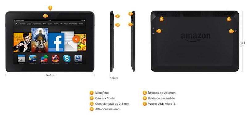Kindle Fire HDX 7 Amazon