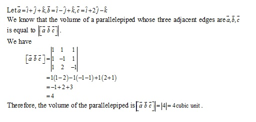 RD Sharma Class 12 Solutions Chapter 26 Scalar Triple Product Ex 26.1 Q3-iv