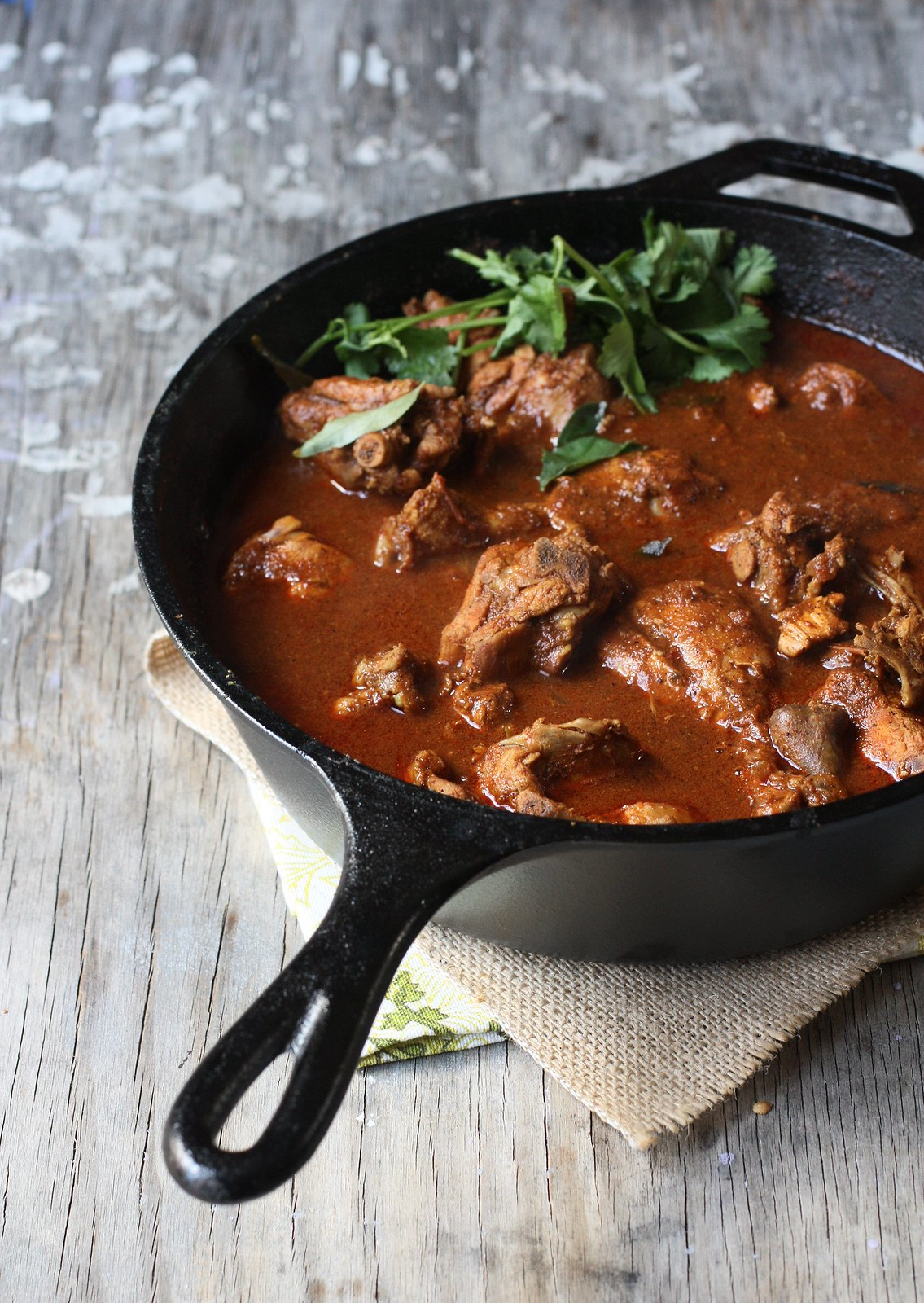 Spicy Chicken Curry( Chettinad Style)