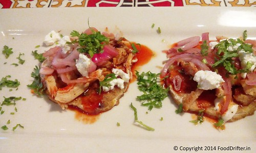Pulled Chicken Corn Cakes