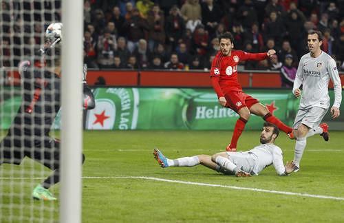 Bayer L. gana en casa por 1-0 al Atlético de Madrid
