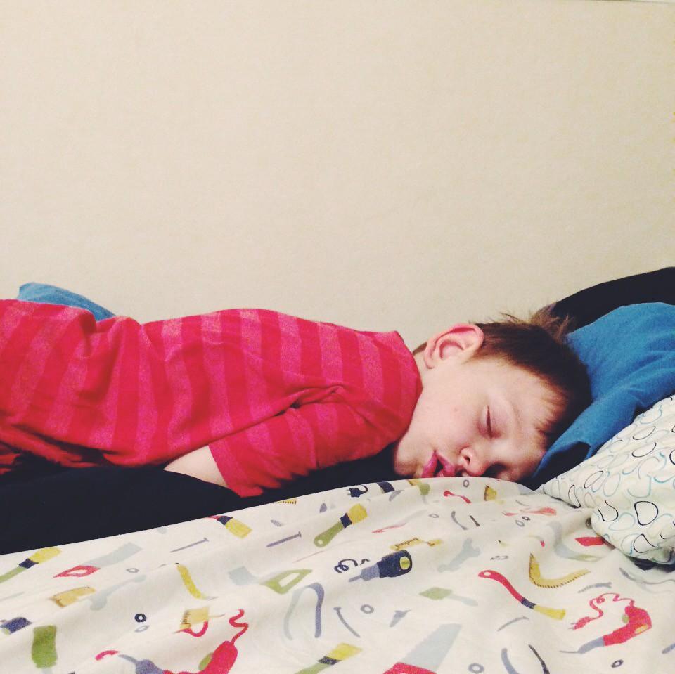 Titus Fell Asleep (11/25/14)