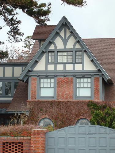 Richards House: detail view of northwest corner