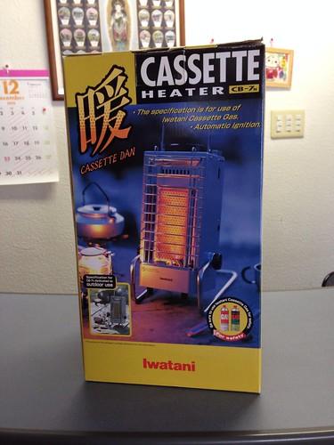 Iwatani CASSETTE HEATER