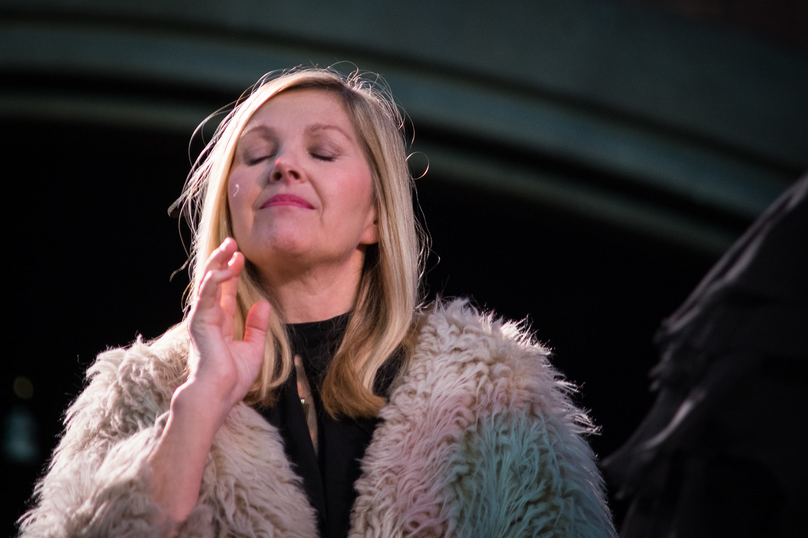Sarah Cracknell in the The Papas and the Mamas - Daylight Music 24th January 2015
