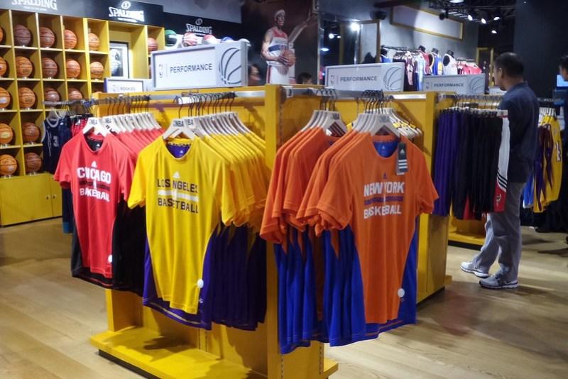 NBA store opens in Glorietta