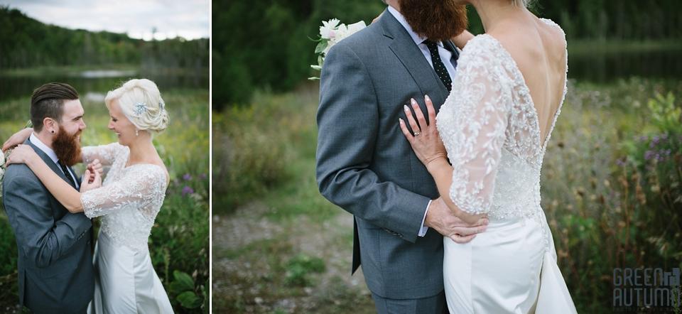 Autumn South Pond Farms Wedding Photography 0065