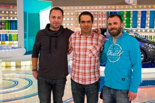 Con Ivan y Frane