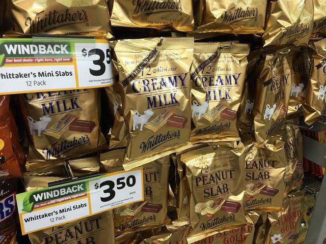 Whittaker\'s Chocolate bag