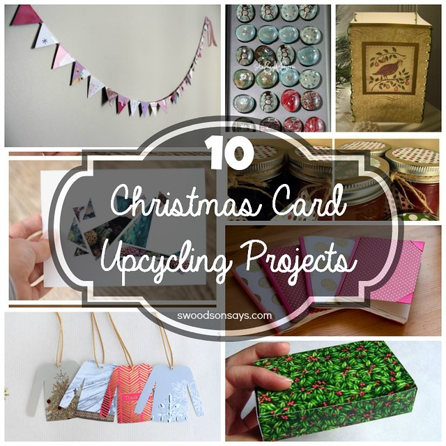 10 Christmas Card Upcycling Projects