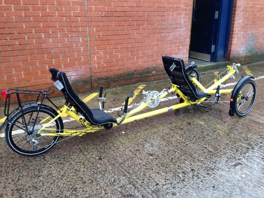 Bernard's Tandem Trike