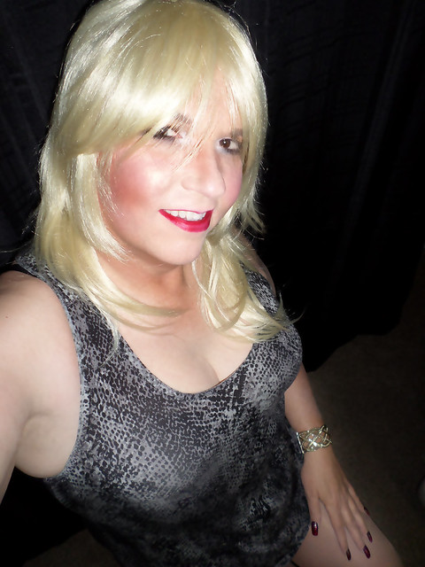 Sexy Crossdresser Cleavage A Gallery On Flickr