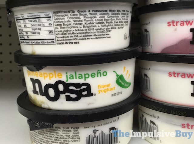 Noosa Sweet Heat Pineapple Jalapeno Yoghurt