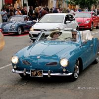 VW Karmann Ghia Convertible Spotted in Carmel, CA