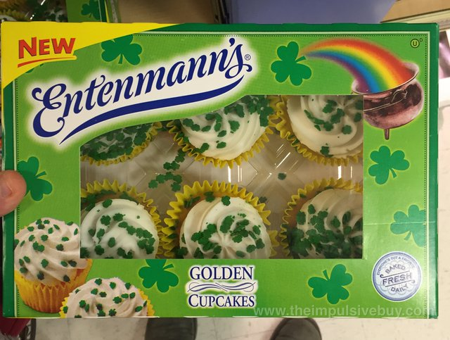 Entenmann's Golden Cupcakes