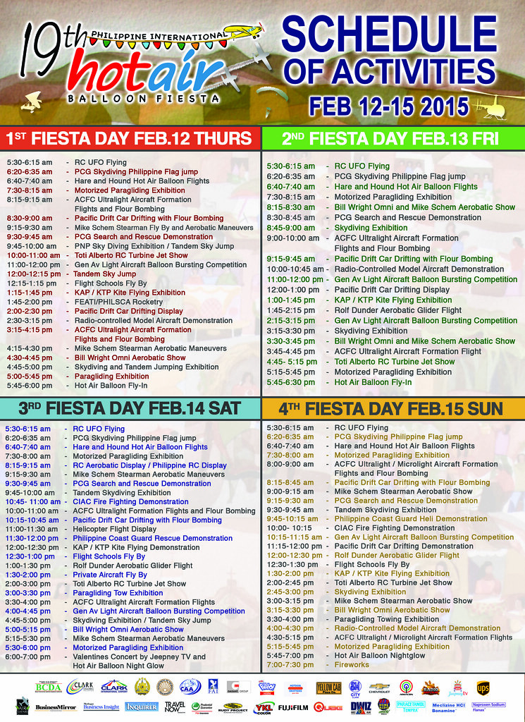 Schedule-of-Activities