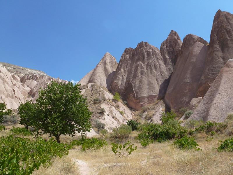 Turquie - jour 21 - Vallées de Cappadoce  - 067 - Çavuşin, Güllü Dere (vallée aux roses)