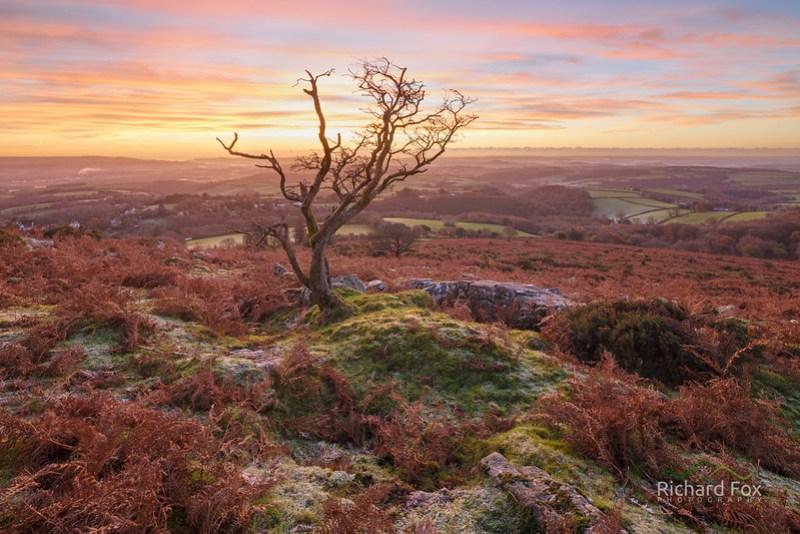 Fire Cracker, Dartmoor - Blend of 2 Exposures
