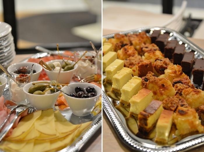 Rauwolf Rösthaus + Brewbar Food Apfelkuchen Cheese Cake Brownie