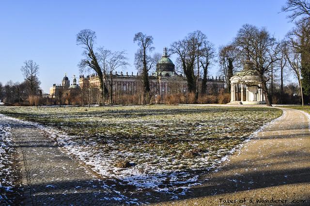 POTSDAM - Park Sanssouci - Neues Palais