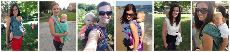 Babywearing Collage