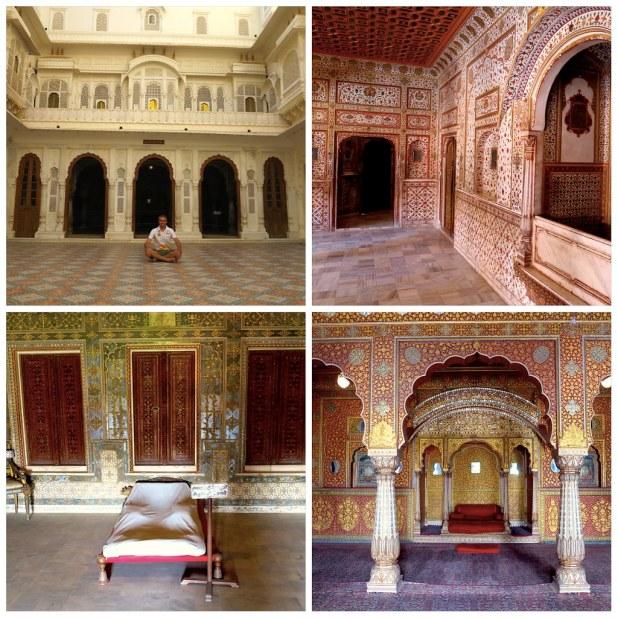 Interior fuerte Juragarh India