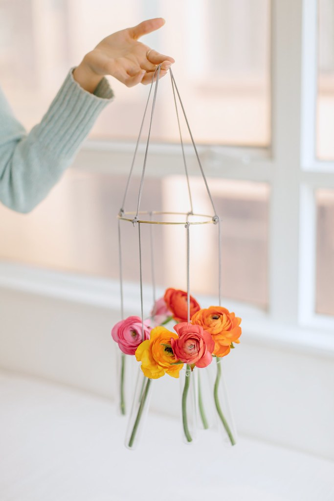 Diy Test Tube Vase Chandelier A Pair Amp A Spare