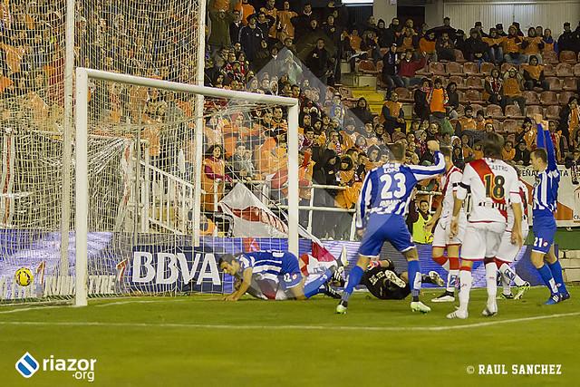 Liga BBVA. Rayo Vallecano 1 - R.C.Deportivo 2