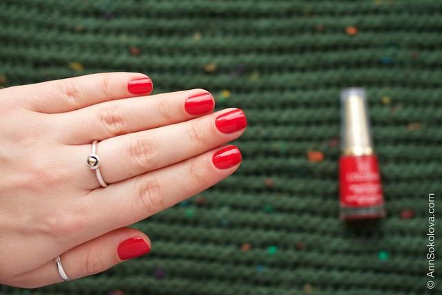 07 Collistar Gloss Nail Lacquer #580 Rosso Sofia