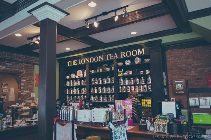 London Tea Room St. Louis